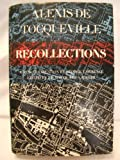 img - for Alexis de Tocqueville Recollections: 1970 Edition book / textbook / text book