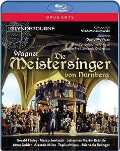 Wagner Die Meistersinger Nurnberg Marco Jentzsch Anna Gabler Michaela Selinger The Glyndebourne Chorus London Philharmonic Orchestra David Mcvicar Vladimir Jurowski Opus Arte Oabd7108d Blu-ray from Opus Arte