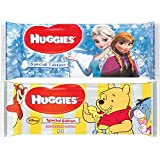 Huggies Disney Special Edition Baby Wipes 56 Pieces (Pack Design May Vary) - Pack of 10 (560 Wipes)