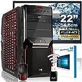 AGANDO High-End Gaming PC-Komplettpaket | Intel Core i5 4690...