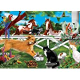 30 Piece Playful Pets Cardboard Jigsaw