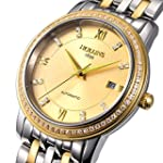 Holuns Men Gold Sapphire Stainless St...