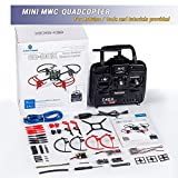 SunFounder RC Drone Quadcopter Kit 6 Axis Multiwii Flight Controller 6D-BOX for Arduino DIY Starter MWC With 2.4GHz RC Detail Manual