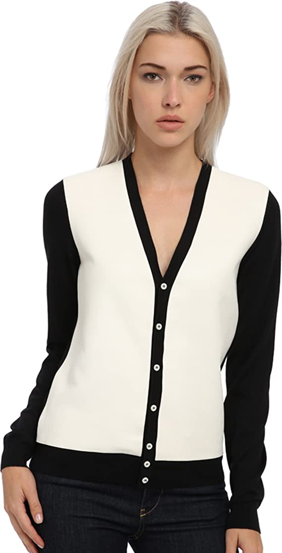 DSQUARED2 Women's Two-Tone Cardigan