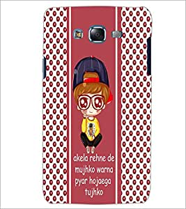 PrintDhaba Quote D-6062 Back Case Cover for SAMSUNG GALAXY ON 7 (Multi-Coloured)
