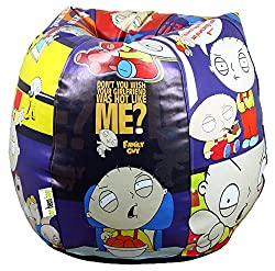 Digital Printed Bean Bag Cartoon XXL Filled