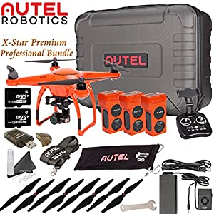 Autel Robotics X-Star Premium Drone Professional Bundle (Orange) from Autel Robotics