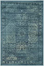 Safavieh Vintage Collection VTG127-2220 Turquoise and Multi Area Rug, 2 feet 7 inches by 4 feet (2\'7\