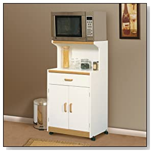 Microwave cart with storage - Mobiletto per microonde ...