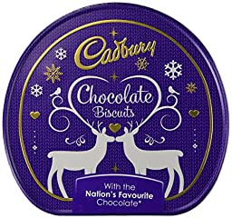 Cadbury Biscuit Collection Jumper Tin 335G