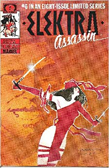 Elektra Assassin # 6 (of 8) Comic: Frank Miller, Bill Sienkiewicz