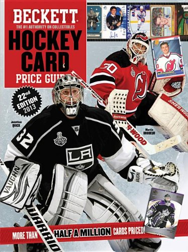 Beckett Hockey Card Price Guide 2013