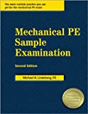 img - for By Michael R. Lindeburg PE:Mechanical PE Sample Examination Second (2nd) Edition (2/E) TEXTBOOK (non Kindle) [PAPERBACK] book / textbook / text book