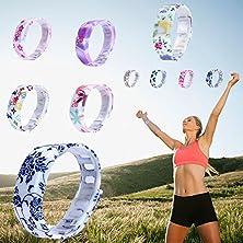 buy Amyove Casual Men Women Rubber Led Waterproof Sport Watches Bracelet Digital Wristwatch Blue/Purple/Blue/Yellow Round