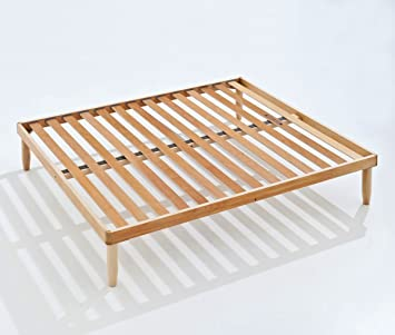 baldiflex Orthopädisches Bett Lamellen HOLZ NATUR 180x 200cm