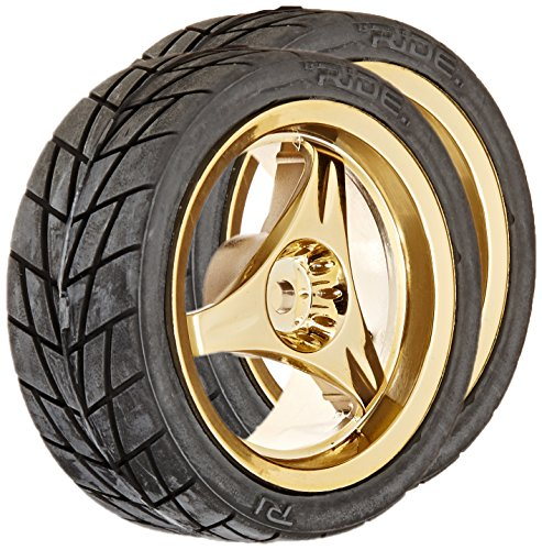 Ride Assembly Radial Tire 3 Spoke, Gold Luster