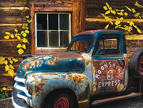 Moonshine Express a 500-Piece Jigsaw Puzzle by Sunsout Inc.
