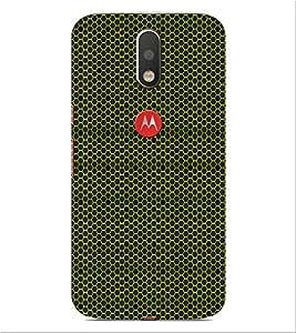 ifasho Modern Art Design Pattern honey Bee case style Back Case Cover for Motorola Moto G4