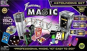 Astounding 150+ Magic Trick Set with Instructional DVD Set