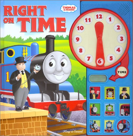 Thomas The Tank Engine: Right On Time (Interactive Sound Book) (Thomas & Friends) front-1000144