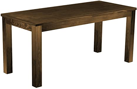 Brasilmöbel Table 'Rio Classico'170 x 73 CM Solid Pine Wood, Colour: Antique Oak