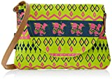 #6: Kanvas Katha Women's Sling Bag (Mint) (KKPUS001M)