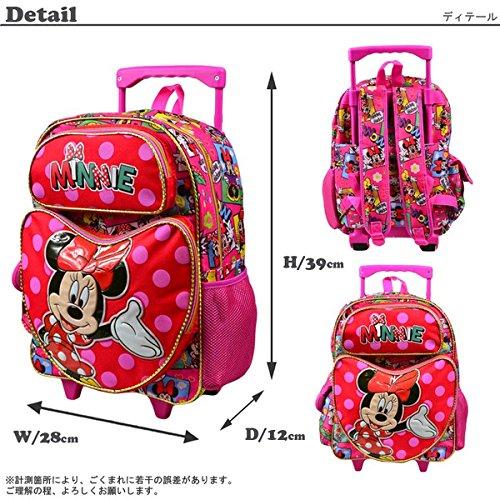 ディズニー ミニーマウス キャリーバッグ Lサイズ 【36166】 [並行輸入品]