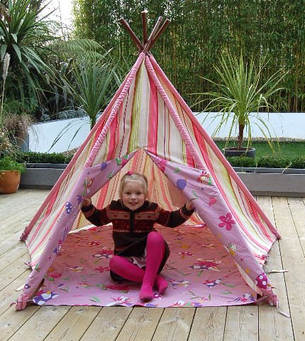 Childrens Wigwam Fairy Design