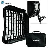 Kit de iluminación para fotografía de estudio  LimoStudio AG814  equipo de Softbox de 23x23 pulgadas  700W