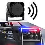 Icon Black 100-Watt Police Siren Speaker for Warning/Emergency Vehicle Speaker Systems (Color: Black Edition)