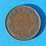 The Netherlands (Kingdom of) Willem III 2 1/2 Cent Coin 1881