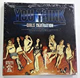 SNSD GIRLS' GENERATION - You Think (Vol. 5) CD + Photobook + Photocard + Folded Poster + Extra Gift Photocards Set