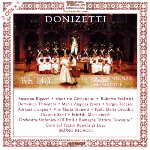 CD : DONIZETTI / RIGACCI / COMENCINI - Betly