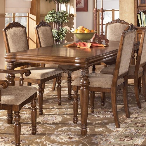 Famous Collection Rectangular Ext Famous Collection Table in DarkBrown Finish rabe collection пуловер rabe collection oa311510 601