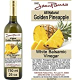 "Traditional Barrel aged 12 years ""Golden Pineapple White Balsamic"" 100% ALL NATURAL White Italian vinegar 750ml (25oz)"