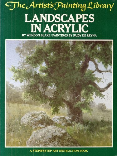 Landscapes in acrylic (The Artist's painting library)