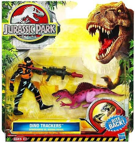 Jurassic Park Dino Trackers - Spinosaurus vs. Marine Patrol Set