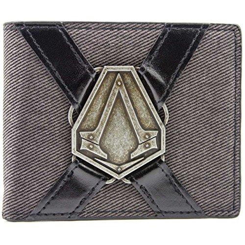 Ubisoft Assassins Creed Syndicate Silver Symbol Grigio portafoglio
