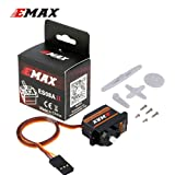 HTRC 4 x EMAX Original ES08A II 8.5g Mini Plastic Gear Analog Servo for RC Model