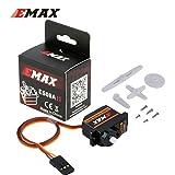 HTRC 4 x EMAX Original ES08A II 8.5g Mini Plastic Gear Analog Servo for RC Model
