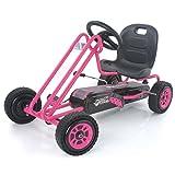 Hauck T90104 Pedal Go Kart, Pink (Color: Pink)