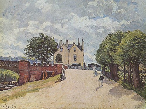 the-museum-outlet-inn-at-east-molesey-with-hampton-court-bridge-1874-a3-poster