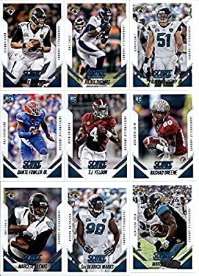 2015 Score Football Cards Team Set with Rookies ( IN STORAGE CASE) - Jacksonville Jaguars (14 Cards) Includes Blake Bortles, Julius Thomas, Dante Fowler Jr.
