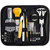 Readaeer® 144 Pcs Portable Watchmaker Watch Repair Tools Kit Set Back Case Opener Adjuster Remover