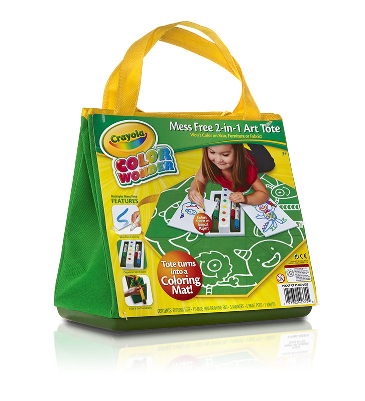Amazon Com Crayola Color Wonder Mess Free 2 In 1 Art Tote