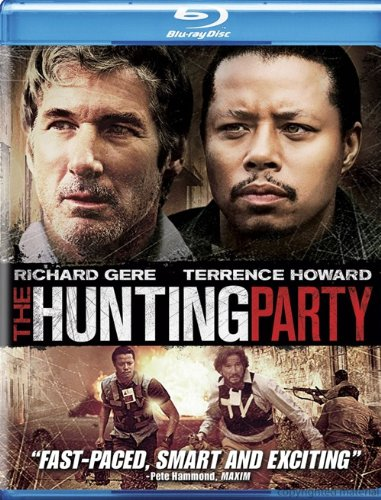 The Hunting Party [Blu-ray] [Import belge]