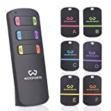 Key Finder,WOSPORTS Item Tracker Wireless RF Item Locator with Loud Beeping Sound,100ft Support Remote Control,Upgrade Long Lasting Batteries, Mini Key Tracker with Anti-Lost Tag and Keychain (Tamaño: Key Finder-6)