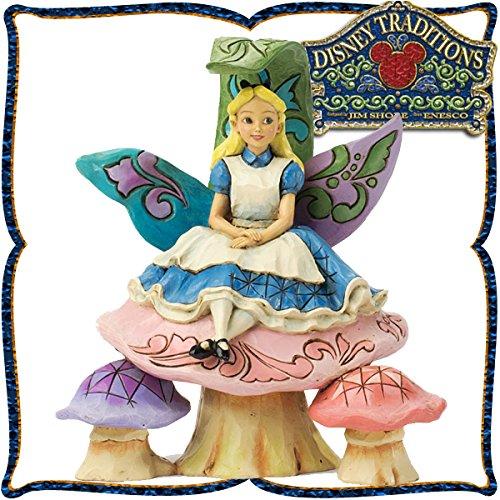 木彫り調フィギュア アリス <不思議の国のアリス> ディズニー・トラディション