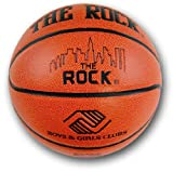 Anaconda Sports® The Rock® MG-4100N-B+GS Regulation Size Men's Synthetic Basketball