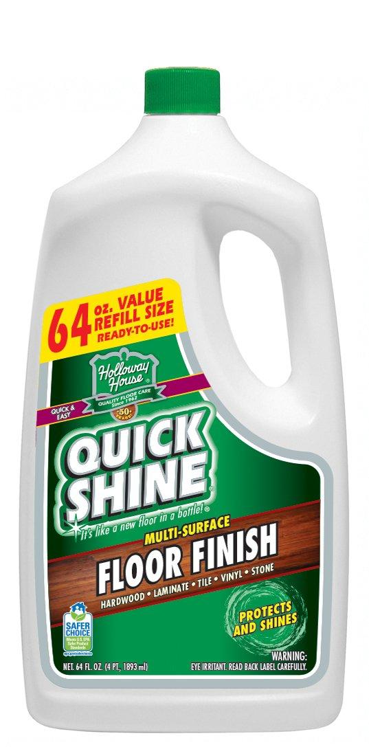 Amazon.com - Quick Shine Multi-Surface Floor Finish, 64-Ounce ...
